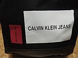 Рюкзак calvin klein jeans с кожаным дном Унисекс Спортивный городской стильный только ОПТ, фото 6