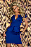 Платье баска шик  42 44 46 48 50 Р, фото 3