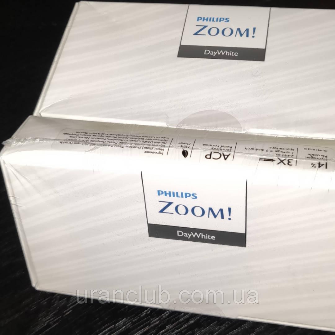Система домашнего отбеливания зубов zoom philips daywhite 14% комплект/3 шпр. х 2,4мл.