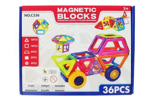 """Магнитный конструктор """"Magnetic Blocks"""", 36 дет"""