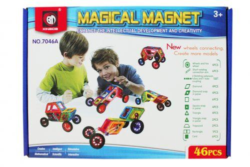 """Магнитный конструктор """"Magical Magnet"""", 46 дет"""