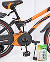 """Велосипед детский HAMMER S500 20"""" дюймов (Зеленый), фото 5"""