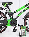 """Велосипед детский HAMMER S500 20"""" дюймов (Зеленый), фото 2"""