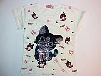 Детская футболка на девочку (3-8 лет), фото 1
