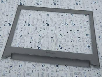 Рамка матрицы Lenovo Z400 серебро Сервисный оригинал с разборки