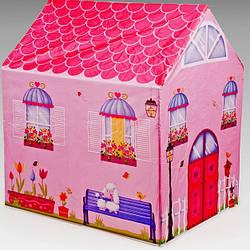 Детская игровая палатка для девочек Сад принцес