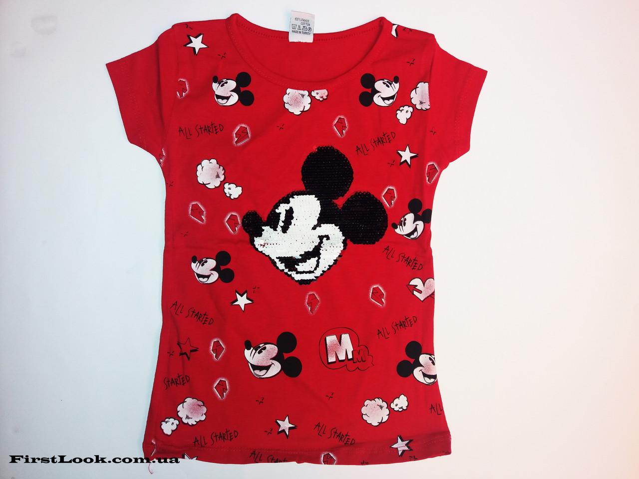 Детская футболка на девочку (6-11лет)