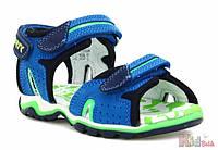 Босоножки для мальчик ярко-синего цвета (27 размер) Bartek 5904699500474