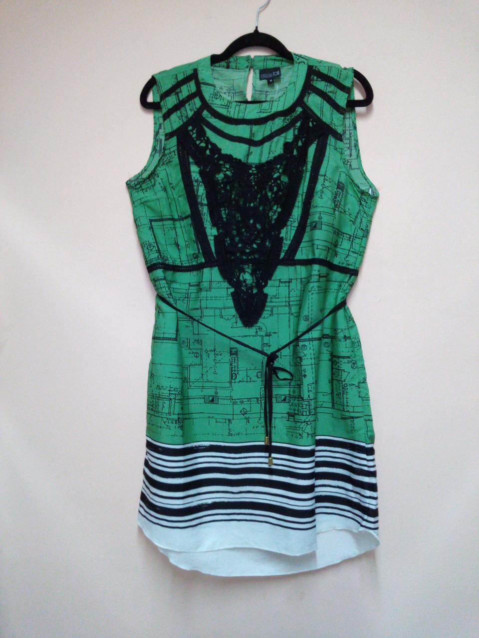Уценка! Стильное летнее женское платье, 42 размер, фото 1