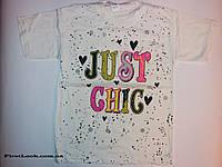 Детская футболка на девочку (4-8лет), фото 1