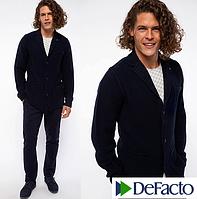 Мужской пиджак De Facto / Де Факто шерстяной, на пуговицах , с карманами, фото 1