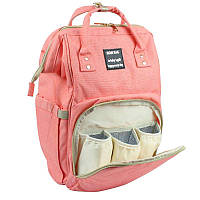 Сумка-рюкзак для мамы Mummy Bag  персиковый - 131838 (nt100)
