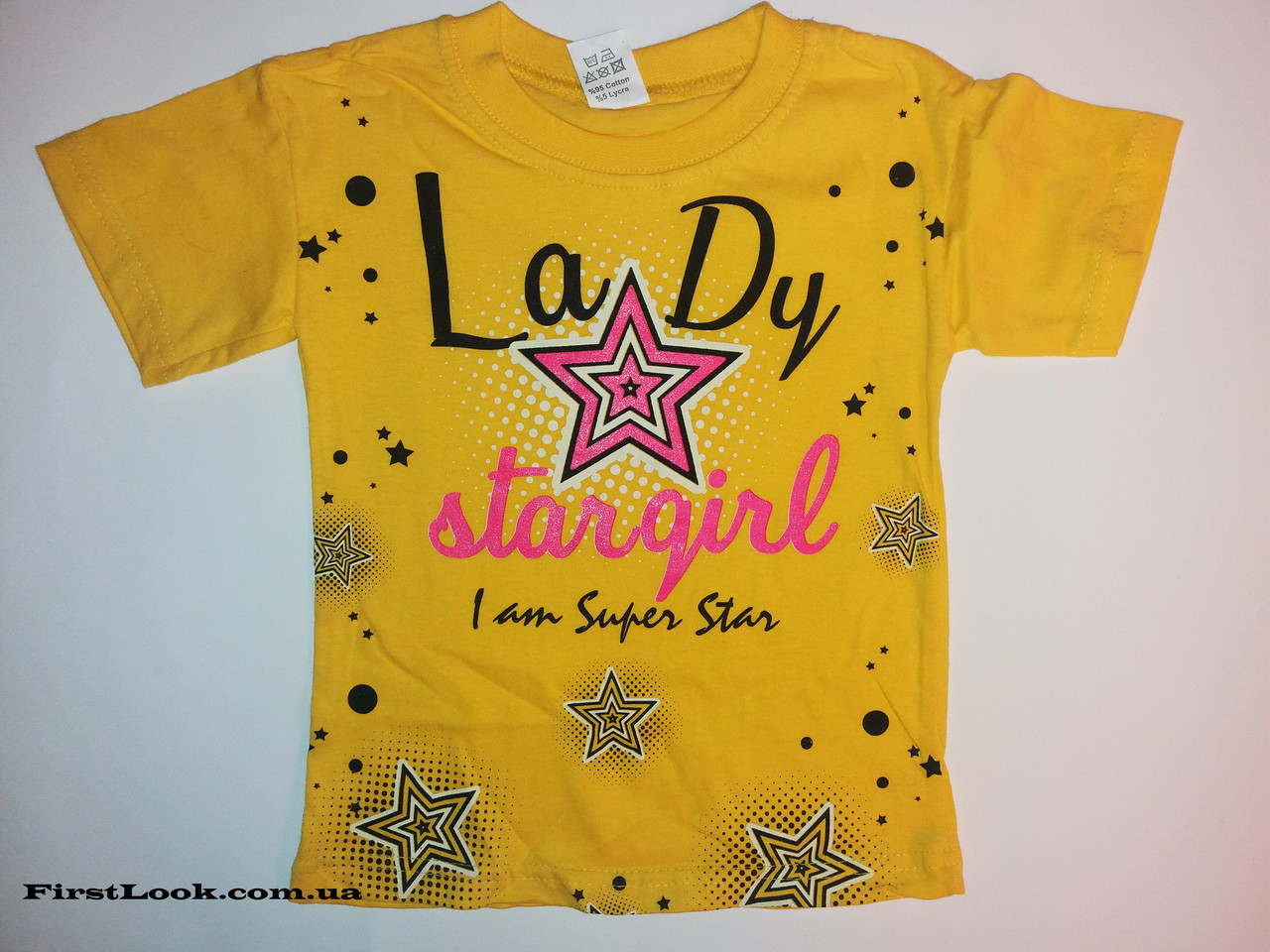 Детская футболка на девочку (4-8лет)