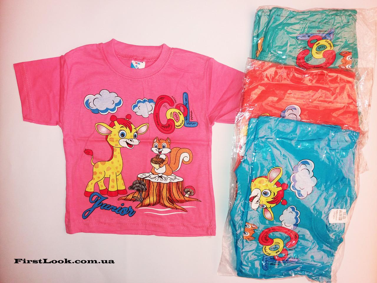 Детская футболка на девочку (1-3 года)