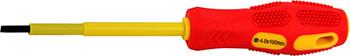 Отвертка изолированная e.tool.st.606 (6.5*150) шлиц E.NEXT (t009004)