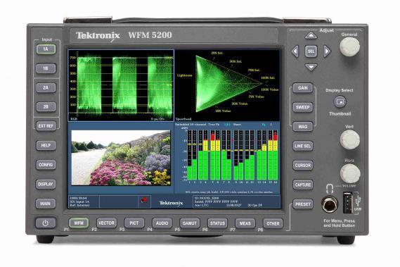 Телевизионный осциллограф Tektronix серии WFM/WVR5000