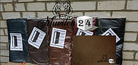 Комплект для обивки входных дверей, светло-коричневый, фото 1