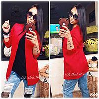 Пиджак женский  кардиган модный и стильный красный черный мята ...42 44 46 48 50 Р