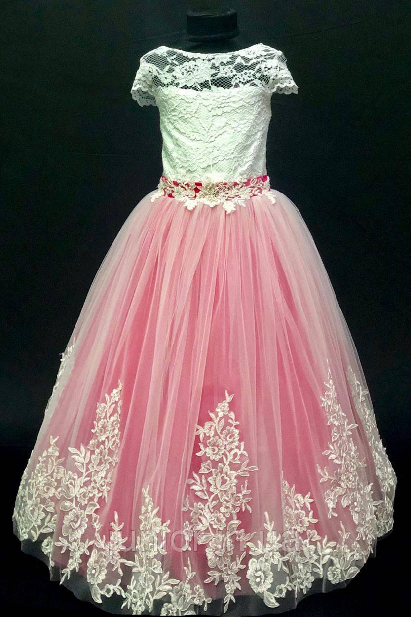 f0f29d3554d Нарядное выпускное пышное платье для девочки