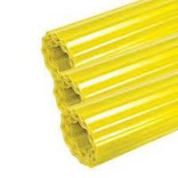 Волнопласт пластиковый шифер гофрированный желтый 1,5х20м