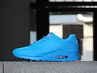 Кроссовки Classik 7164-3 (Nike AirMax) (весна/осень, женские, искусственная кожа, синий)