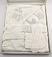 Банный набор для купания новорожденного подарок 5 предметов (НП07258)