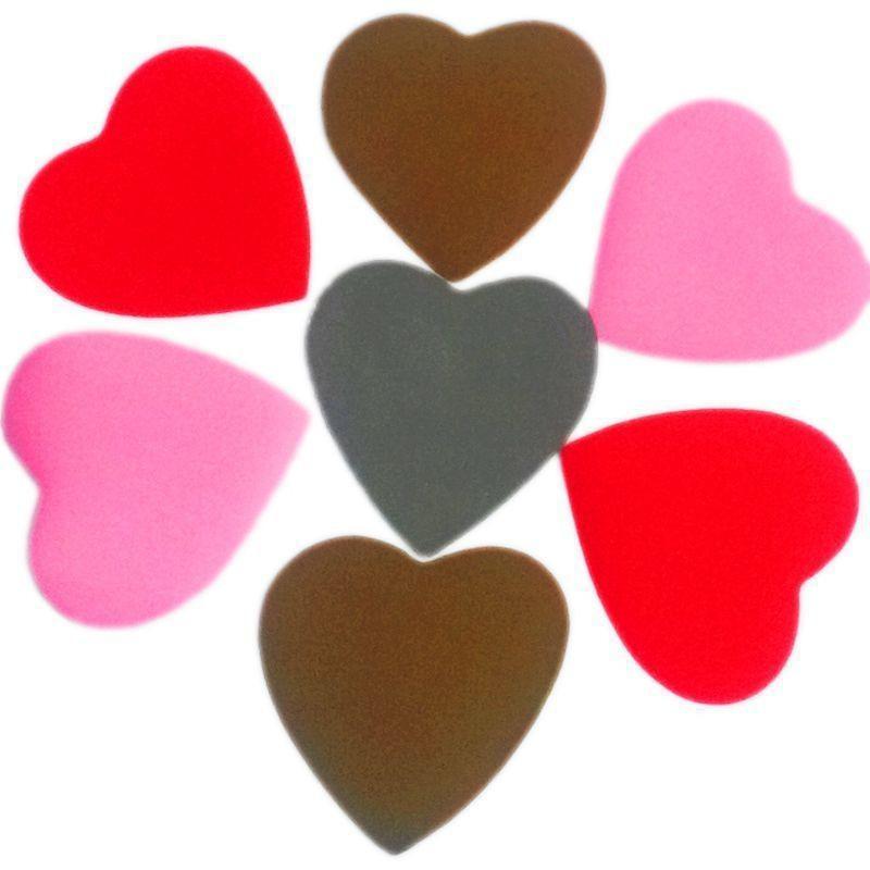 Конфетти Сердца, Белое/Розовое/Красное, 500 гр