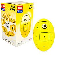 Магнитный конструктор GEOMAG KOR 2.0 Желтый (0871772006756)