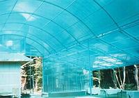 Рулонный пластиковый шифер Элипласт 1,5м гофрированный голубой, фото 2