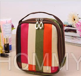 Мини сумочка - косметичка с зеркальцем. Органайзер для мелочей и гаджетов