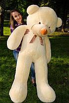 Плюшевый медведь прямой 180 см разные цвета
