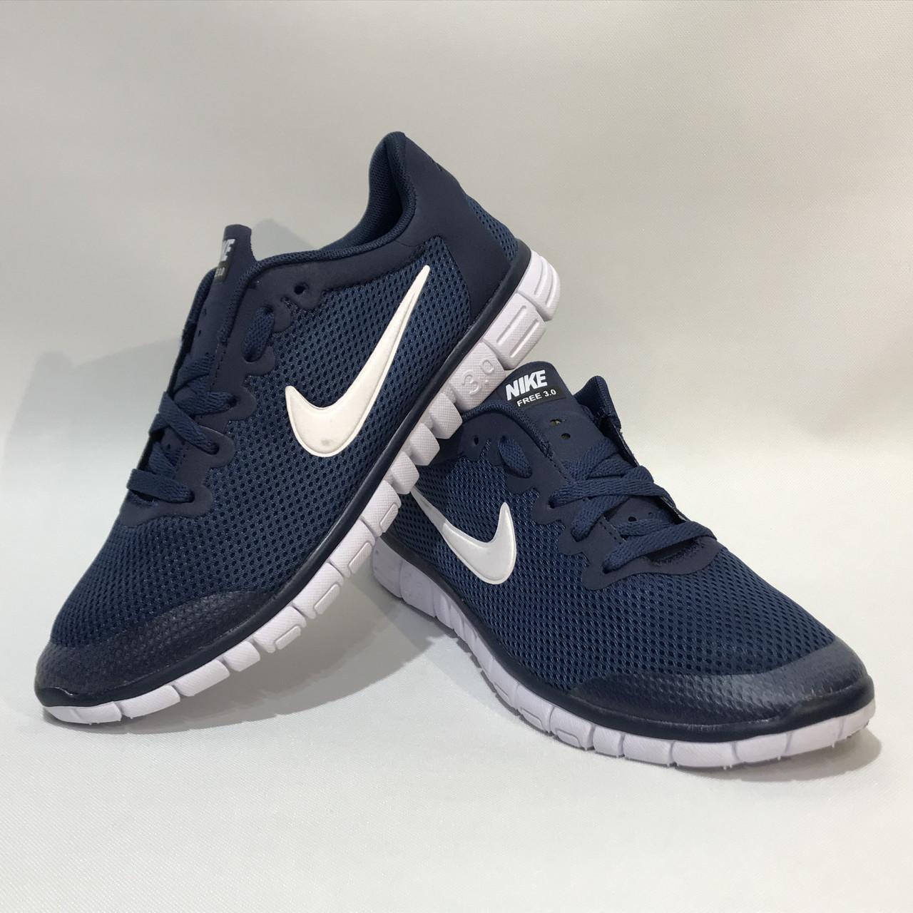 dd5130c0 Кроссовки мужские Nike Free Run 3.0 сетка синие (найк фри ран), цена 568,75  грн., купить в Запорожье — Prom.ua (ID#924330872)