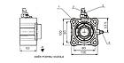 Коробка відбору потужності HYVA ZF 5-50 4H, фото 2