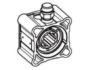 Коробка відбору потужності HYVA ZF 5-50 4H