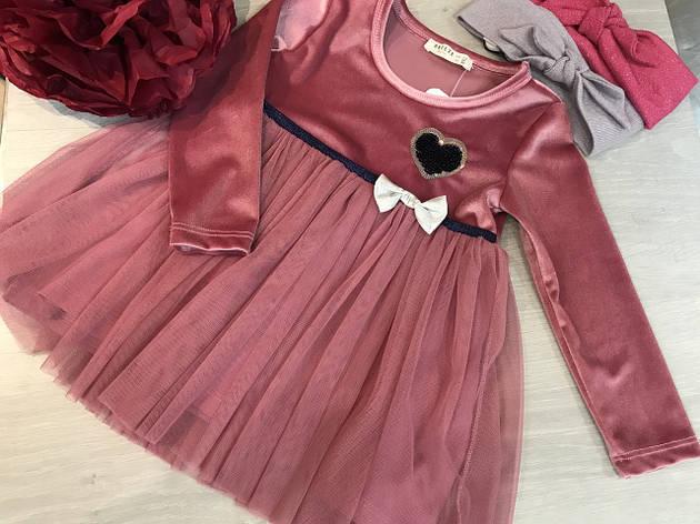 Нарядне плаття для дівчинки 86, фото 2