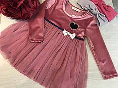 Нарядное платье для девочки 86