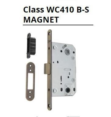 Межкомнатный механизм магнитной защелкой