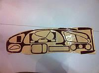 Накладки на панель Daewoo Lanos (дерево)