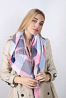 Весенний платок в пастельных тонах