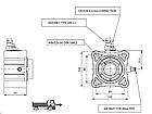 Коробка відбору потужності Hydrocar 81Z1, фото 2