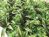 Килимок на могилу 60х40, штучна трава для могили, фото 4