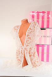 Пеньюар Кружевной Халат Victoria's Secret M \ L Оригинал Виктория Сикрет