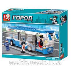 Конструктор Sluban M38-B0330 Двухэтажный автобус 235 деталей