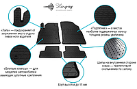 Резиновые коврики в салон TOYOTA Corolla E120 01-  Stingray (Передние), фото 1