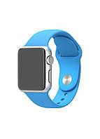 Ремешок ARM силиконовый Sport Band для Apple Watch 42/44 mm Light blue