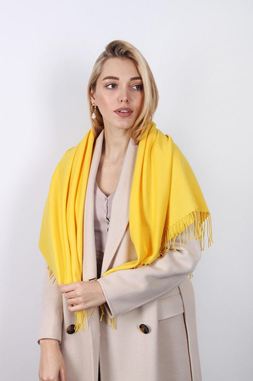 935c75cc7fe6 Ярко-желтый стильный женский платок