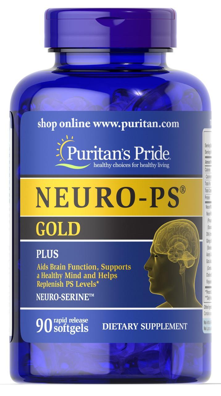 Витамины Puritan's Pride Neuro - PS Gold 90 softgels