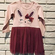 Нарядное платье для девочки 86-104