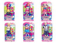Кукла Барби D210 (24шт) 6 видов микс, на планшетке 33*17*7 см