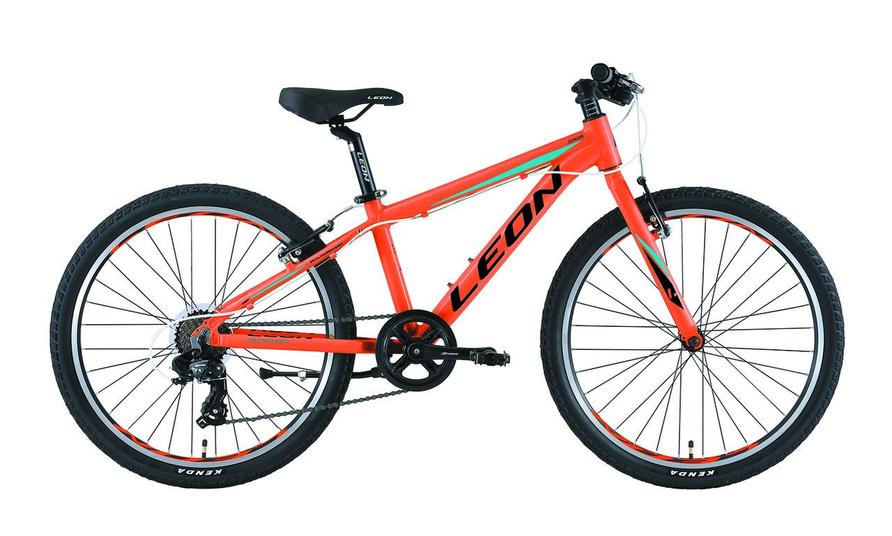 """Велосипед подростковый 24"""" Leon JUNIOR RIGID 2019 (оранжевый )"""